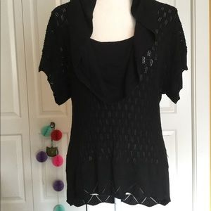 White House Black Market Cowl Neck thin sweater